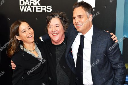 Pamela Koffler, Christine Vachon and Mark Ruffalo