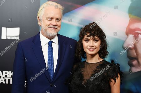 Tim Robbins and Gratiela Brancusi