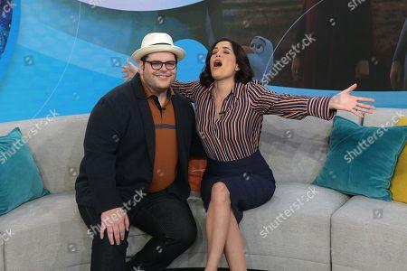 Josh Gad, Karla Martinez