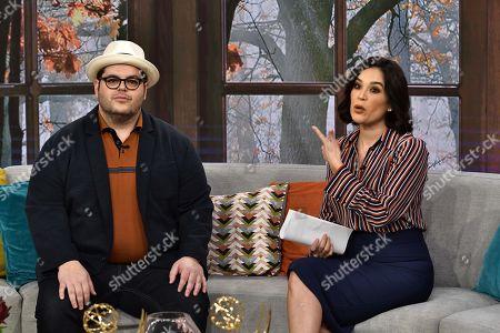 Stock Image of Josh Gad, Karla Martinez
