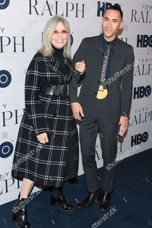 Stock Image of Diane Keaton and guest