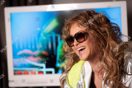Paulina Rubio poses during an interview with Spanish international news agency Efe in Madrid, Spain, 12 November 2019, on occasion of the presentation of her last single 'Si supieran'.