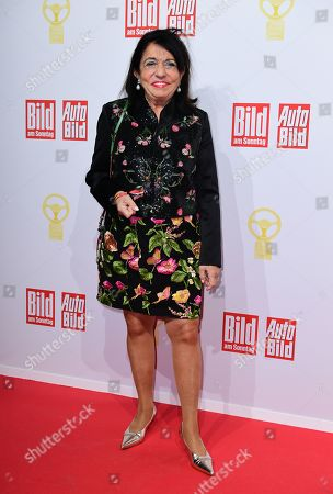 German businesswoman Regine Sixt attends the awarding ceremony of 'Das Goldene Lenkrad' (lit. the Golden Steering Wheel) in Berlin, Germany, 12 November 2019. For the 43rd time, the weekly 'BILD am SONNTAG' and the European AUTO BILD Group award the Europe's most important car prize - 'The Golden Steering Wheel'.