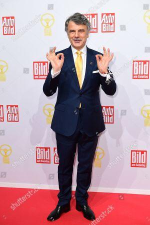 Editorial image of Goldenes Lenkrad 2019 award in Berlin, Germany - 12 Nov 2019