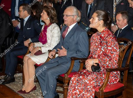 Queen Silvia, King Carl Gustaf and Crown Princess Victoria
