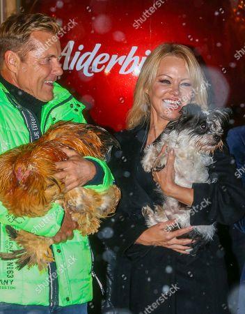 Dieter Bohlen and Pamela Anderson