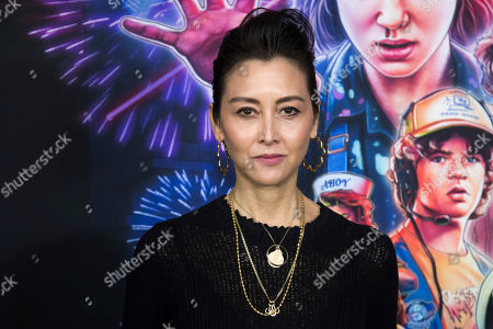 """Carmen Cuba attends a special screening of Netflix's """"Stranger Things"""" season 3 at the DGA New York Theater, in New York"""