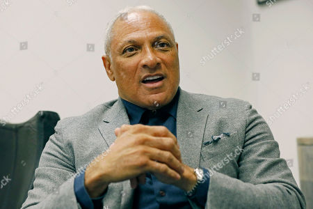 Mississippi Democrat Mike Espy explains, at his Jackson, Miss., office, how he is using data to help him pursue votes in a run for the U.S. Senate against Republican incumbent Cindy Hyde-Smith, setting up a 2020 rematch of their 2018 special election to fill the last two years of retired Republican Sen. Thad Cochran's six-year term. Espy announced Tuesday morning that he's running again for U.S. Senate in Mississippi