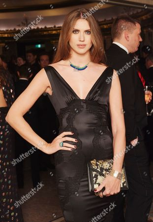 Sabrina Percy attends the 29th Cartier Racing Awards