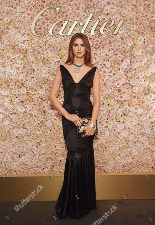 Stock Image of Sabrina Percy attends the 29th Cartier Racing Awards
