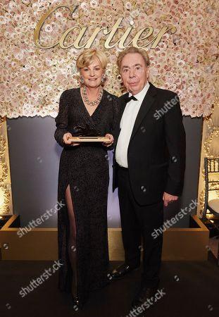 Madeleine Lloyd Webber and Sir Andrew Lloyd Webber attends the 29th Cartier Racing Awards