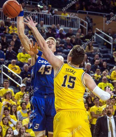 Editorial picture of Creighton Michigan Basketball, Ann Arbor, USA - 12 Nov 2019