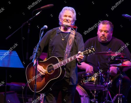 Kris Kristofferson performs in concert at The American Music Theatre in Lancaster, Pa. Kristofferson surprised customers when he performed with an acoustic guitar at a North Dakota bar after a band taped a request to the singer-songwriter's tour bus. Kristofferson stopped at Dempsey's Public House in downtown Fargo on Saturday night, Nov. 9, 2019, and asked to sing with the band 32 Below