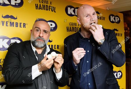 John Hartson and Omid Djalili