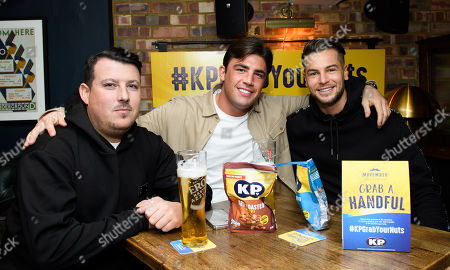 Editorial photo of KP Nuts 'Laugh Your Nuts Off' Movember Charity Event, London, UK - 12 Nov 2019