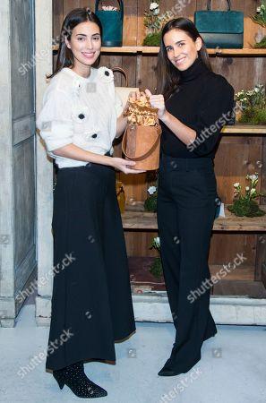 Stock Photo of Alessandra de Osma and Moira Laporta