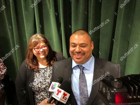Editorial image of California Man Exonerated, Los Angeles, USA - 13 Nov 2019