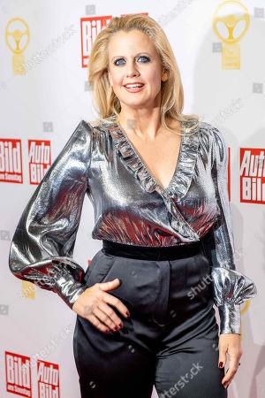 Stock Photo of Barbara Schoneberger attends the Golden Steering Wheel award