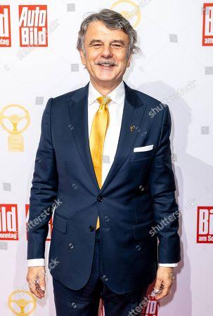 Ralf Speth attends the Golden Steering Wheel award