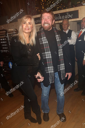 Chuck Norris and wife Gena O'Kelley