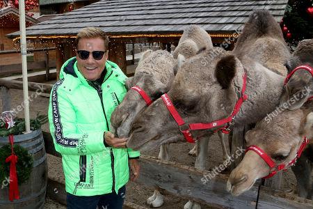 Dieter Bohlen with camel
