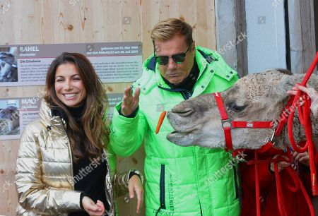 Dieter Bohlen and his partner Fatma Carina Walz