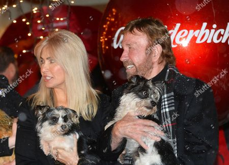 Chuck Norris and his wife Gena