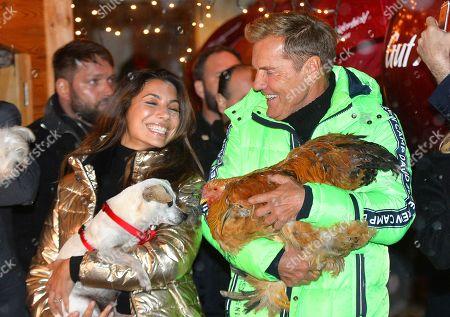 Editorial image of Pre-opening of Gut Aiderbichl Christmas market, Henndorf, Austria - 12 Nov 2019