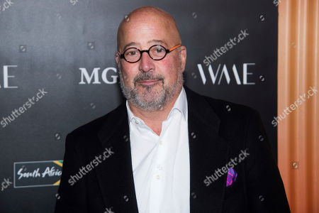 Andrew Zimmern attends The Charlize Theron Africa Outreach Project fundraiser at The Africa Center, in New York