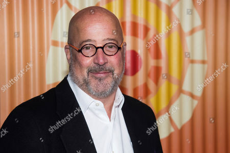 Stock Image of Andrew Zimmern attends The Charlize Theron Africa Outreach Project fundraiser at The Africa Center, in New York