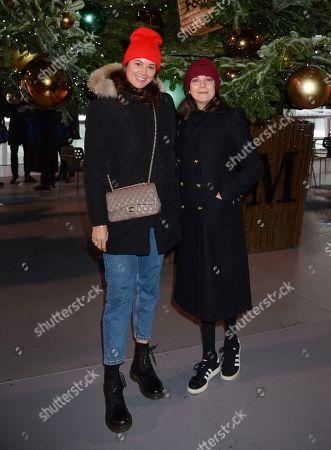 Editorial photo of 'Skate' at Somerset House with Fortnum & Mason, London, UK - 12 Nov 2019