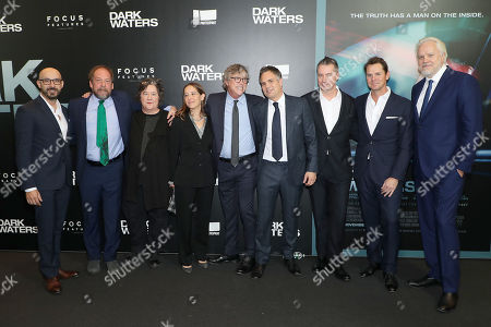 Peter Kujawski (Chairman Focus Features), Bill Camp, Christine Vachon (Producer), Pamela Koffler (Producer), Todd Haynes (Director), Mark Ruffalo, Robert Walak (President FF), Jason Cassidy (VICe Chariman FF) and Tim Robbins