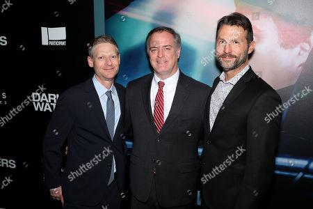Robert Kessel (EVP Participant), Robert Bilott and Jonathan King (Exec. Producer)