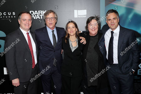 Robert Bilott, Todd Haynes (Director), Pamela Koffler (Producer), Christine Vachon (Producer) and Mark Ruffalo