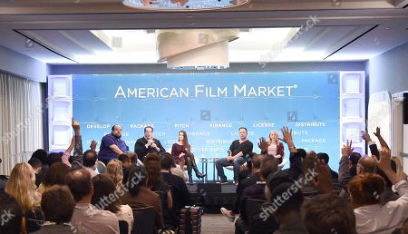 Editorial image of Respecting the Genre: Why Some Horror Films Work While Others Don't, American Film Market 2019, Loews Hotel, Santa Monica, USA - 12 Nov 2019