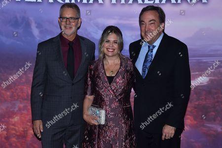 Chris Buck, Jennifer Lee and Peter Del Vecho