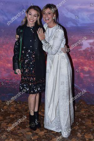Editorial photo of 'Frozen 2' film premiere, Rome, Italy - 12 Nov 2019