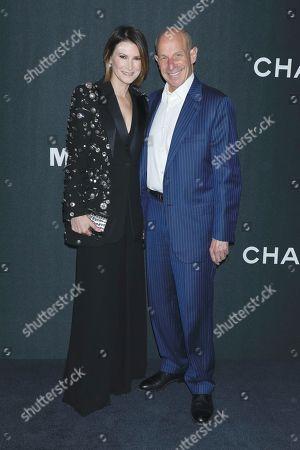 Stock Photo of Lizzie Tisch and Jonathan Tisch