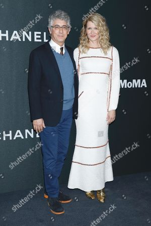 Alexander Payne and Laura Dern