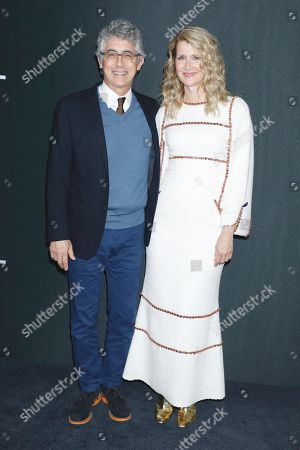 Stock Photo of Alexander Payne and Laura Dern