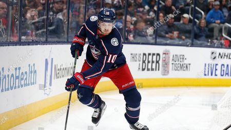 Editorial image of Oilers Blue Jackets Hockey, Columbus, USA - 30 Oct 2019