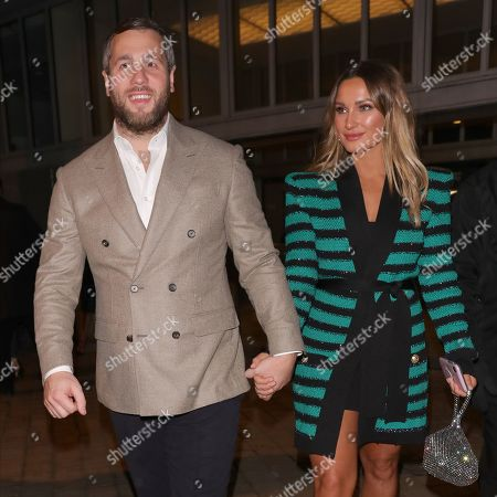 Stock Picture of Paul Knightley and Sam Faiers