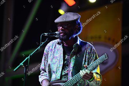 Jamaican reggae fusion band Richard M Daley of Third World