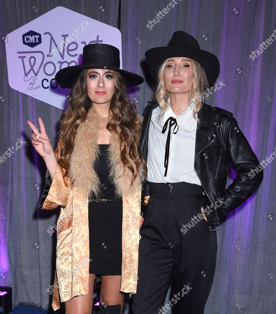 Editorial image of CMT Next Women of Country Celebration, Arrivals, Nashville, USA - 12 Nov 2019