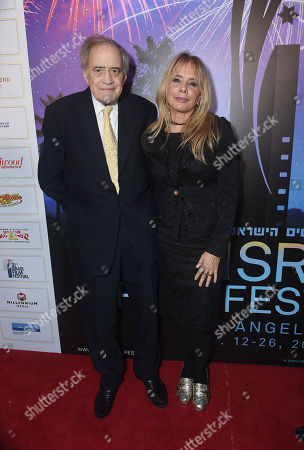 Stock Picture of Arthur Cohn, Rosanna Arquette