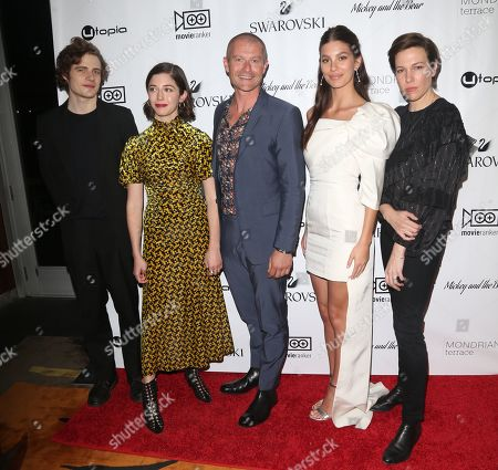 Ben Rosenfield, Annabelle Attanasio, James Badge Dale, Camila Morrone and Rebecca Henderson