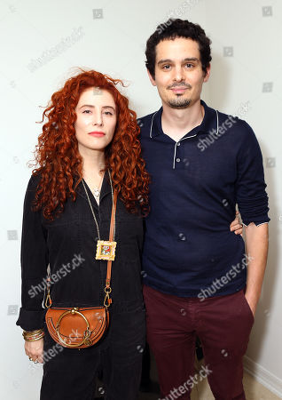 Stock Photo of Alma Har'el and Damien Chazelle