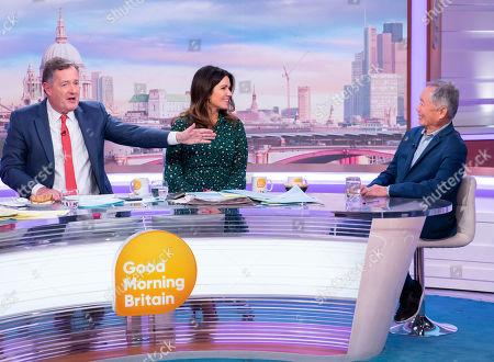 Editorial image of 'Good Morning Britain' TV show, London, UK - 13 Nov 2019