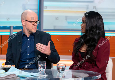 Toby Young and Joanna Jarjue