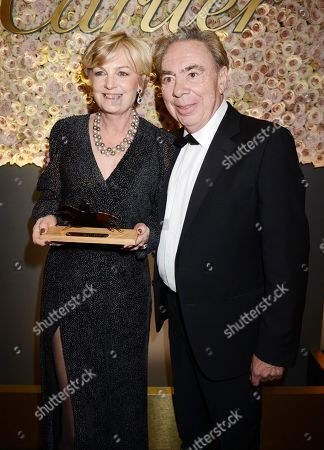 Madeleine Lloyd Webber and Sir Andrew Lloyd Webber